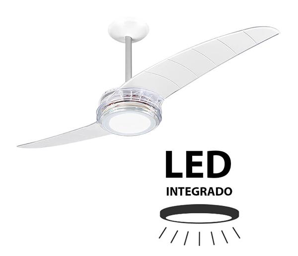 Ventiladores e luminárias Spirit - Blog Myspirit - Ventilador de Teto Spirit 203 Cristal Led - função Exaustão do ventilador de teto
