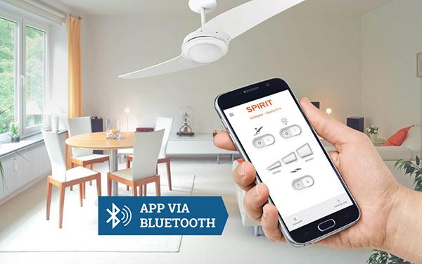 Ventilador de teto Spirit - Blog Myspirit - Ventilador de teto controlado por Aplicativo - controle remoto para ventilador de teto