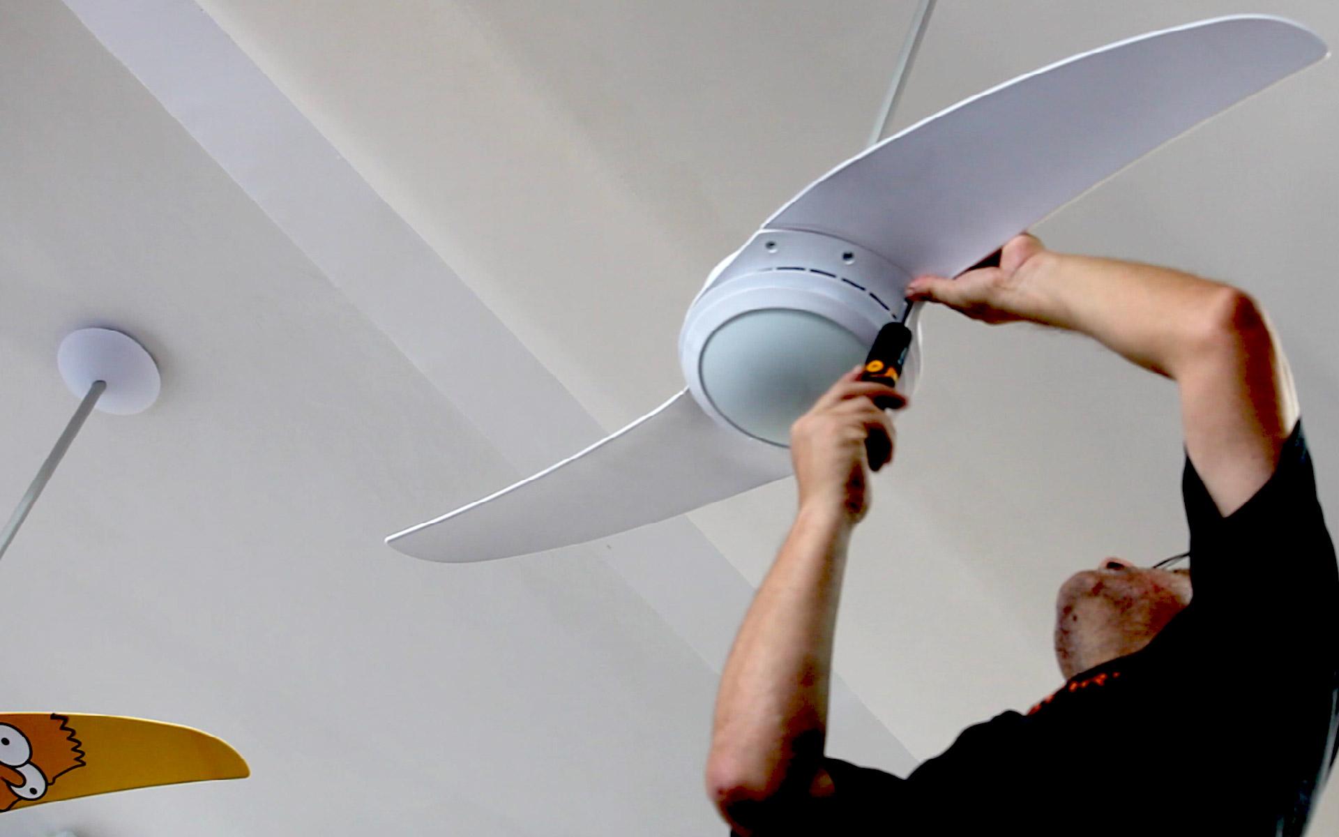 Ventilador de teto Spirit - Blog Myspirit - instalar ventilador de teto