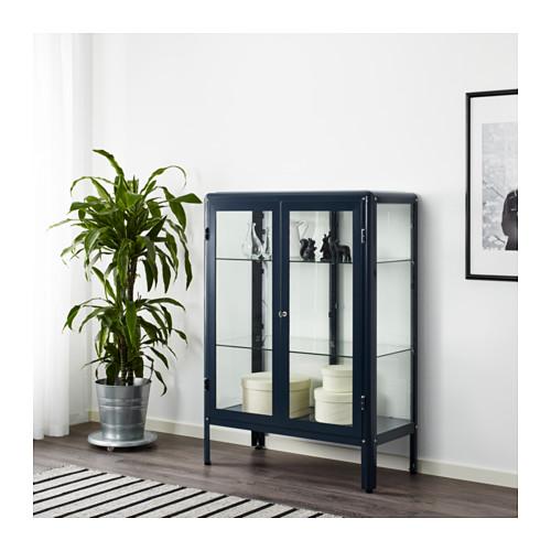 ventilador de teto Spirit - Blog Myspirit - móvel com porta de vidro - como decorar casa pequena