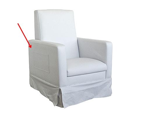 Ventilador de teto Spirit - Blog Myspirit - poltrona de amamentação - poltrona de amamentação com bolso reclinável - preparando o quarto do bebê