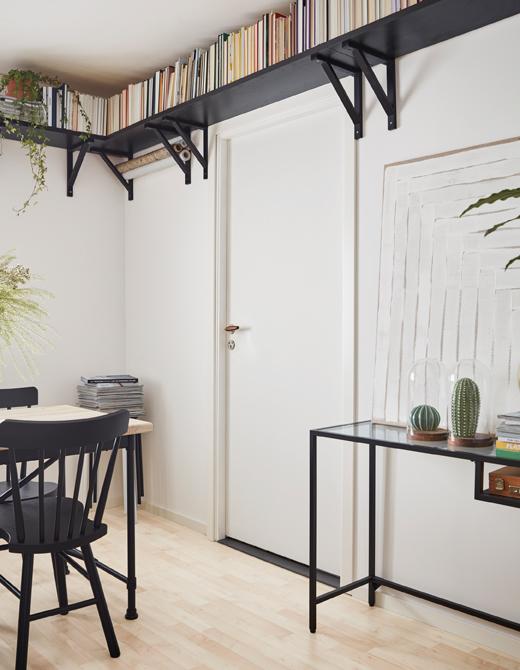 ventilador de teto Spirit - Blog Myspirit - prateleiras na decoração - como decorar casa pequena