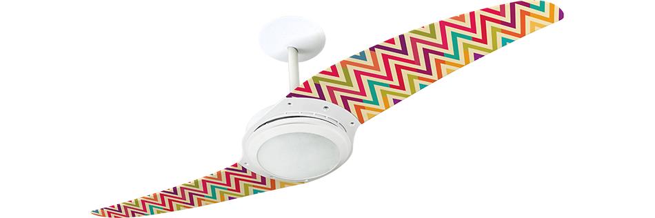 ventilador de teto Spirit - Blog Myspirit - quarto com decoração estilo despojado - ventilador de teto moderno para quarto