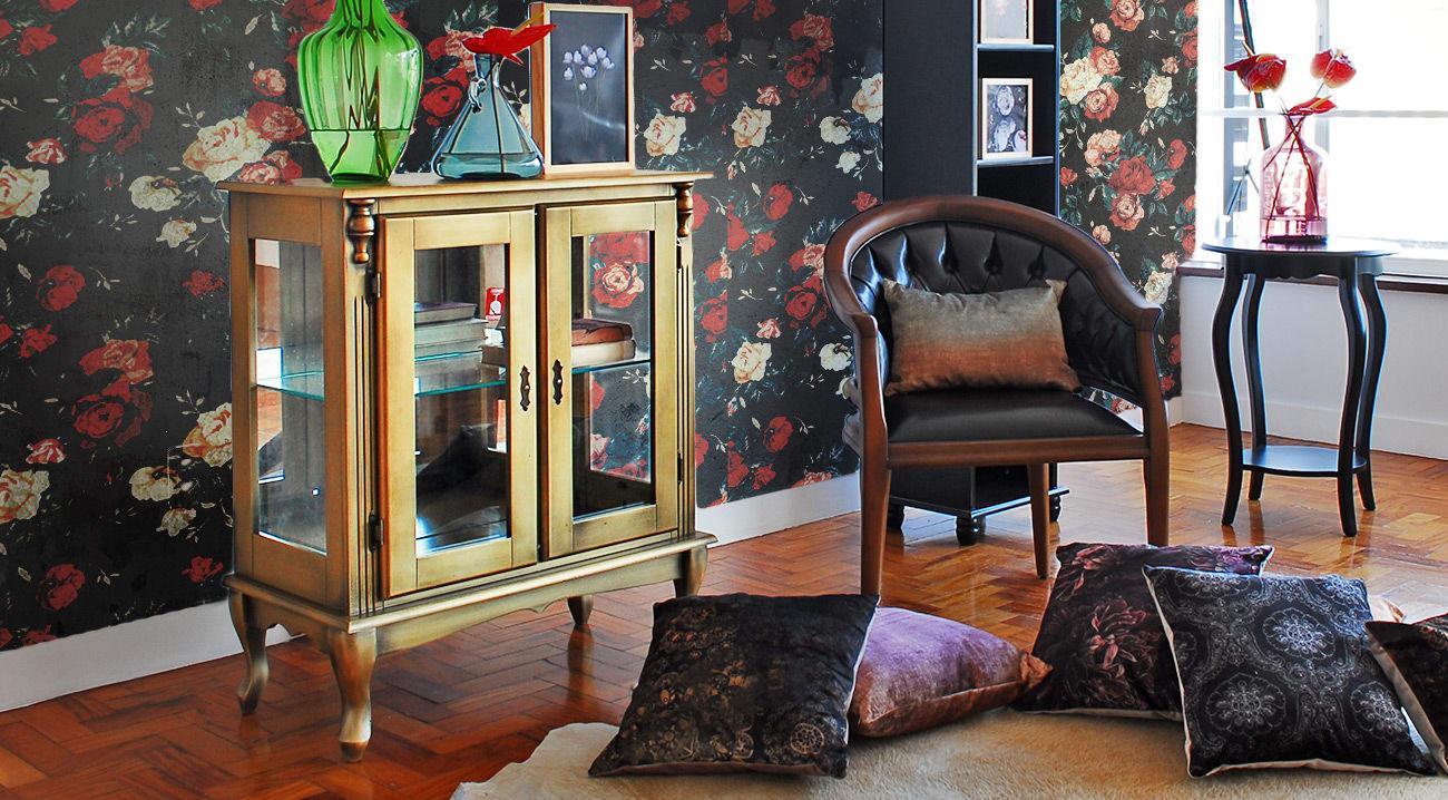 Ventilador de teto Spirit - Blog Myspirit - antúrios na decoração - romantismo dark