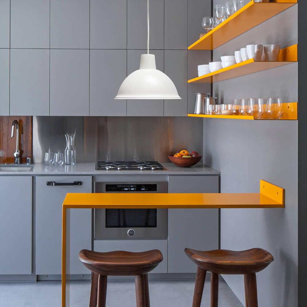 ventilador de teto Spirit - Blog Myspirit - cozinha com luminária pendente - dicas de decoração