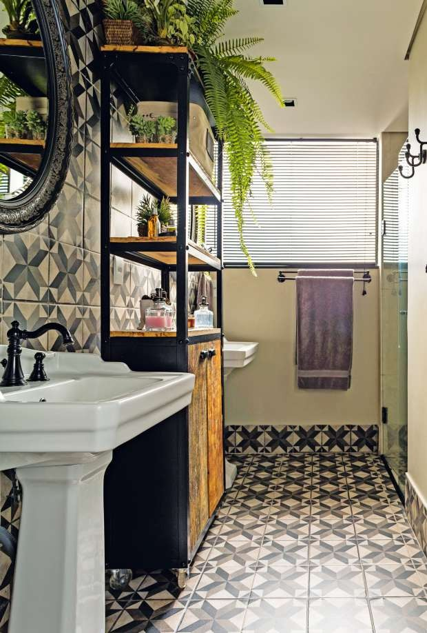 ventilador de teto Spirit - Blog Myspirit - ladrilho hidráulico no banheiro - dicas de decoração
