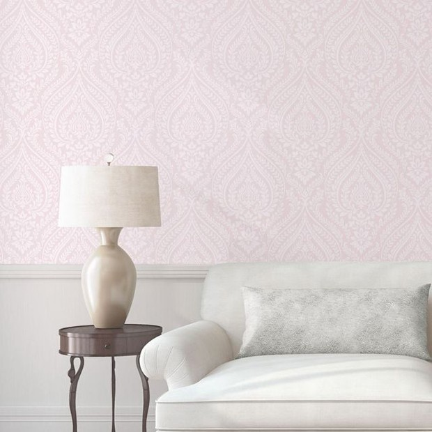 ventilador de teto Spirit - Blog Myspirit - sala com papel de parede cintilante - dicas de decoração