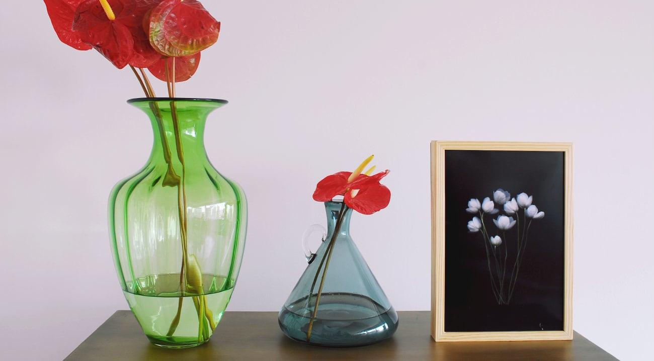 Ventilador de teto Spirit - Blog Myspirit - quadro com fundo escuro - romantismo dark