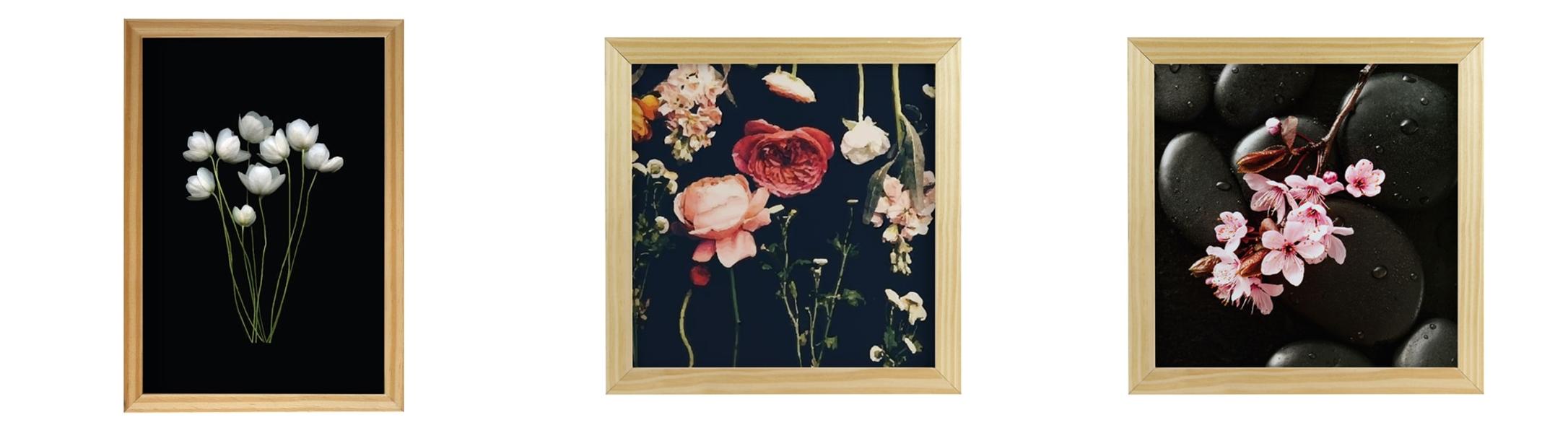 Ventilador de teto Spirit - Blog Myspirit - quadros com fundo escuro - romantismo dark