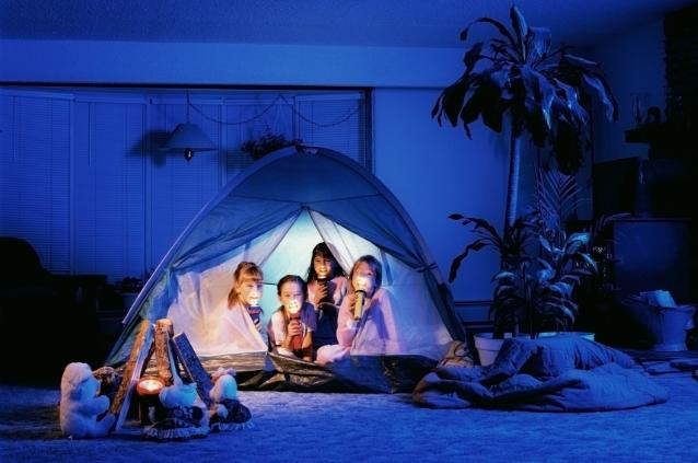 ventilador de teto Spirit - Blog Myspirit - acampar na sala - brincadeiras para o dia das crianças