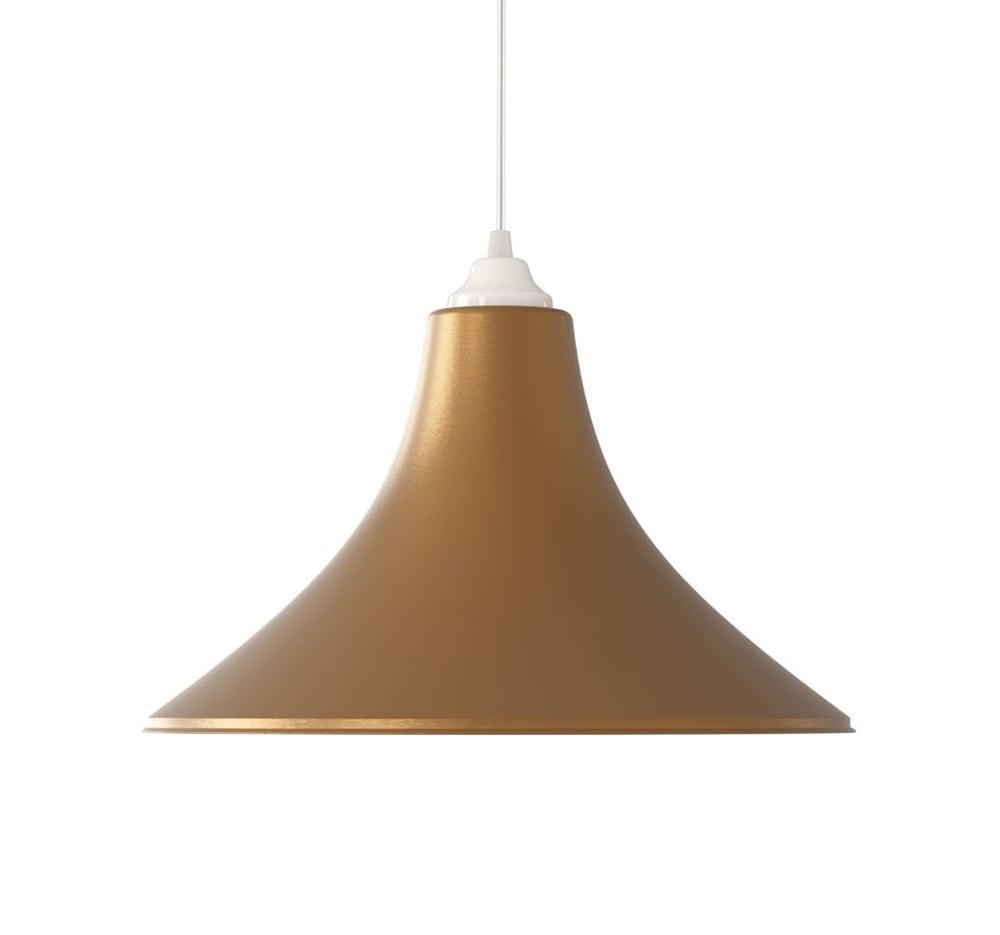 Ventilador de teto Spirit - Blog Myspirit - Luminária SPIRIT Combine - Luminária Pendente Spirit Combine 1000 Ouro - Luminária pendente