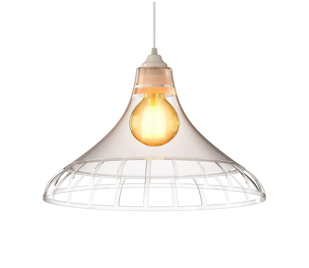 Ventilador de teto Spirit - Blog Myspirit - Luminária SPIRIT Combine - Luminária Pendente Spirit Combine 1400 Cristal - Luminária pendente