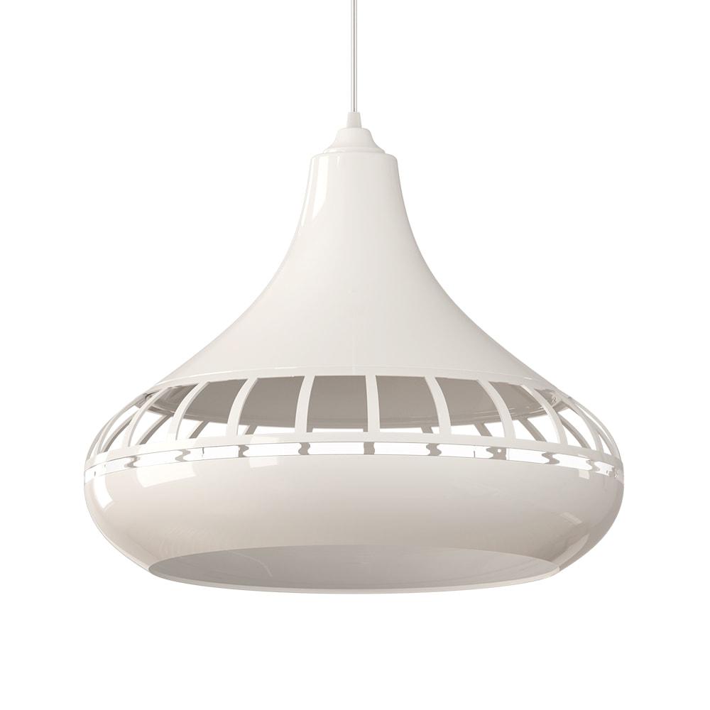 e - Luminária Pendente Spirit Combine 1420 Branca - Luminária pendente