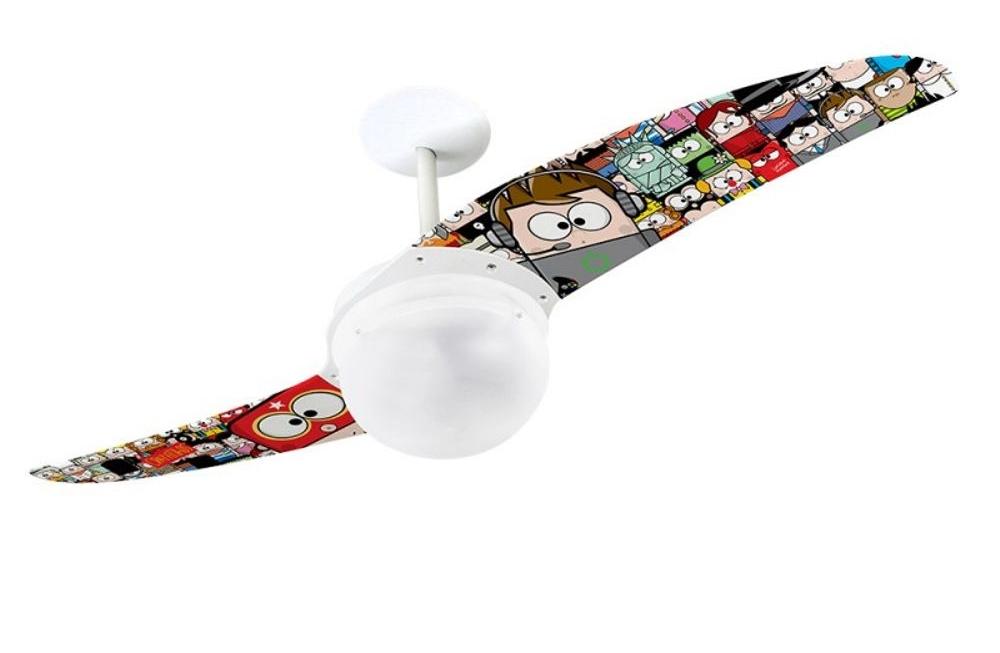 ventilador de teto Spirit - Blog Myspirit -ventilador de teto infantil - brincadeiras para o dia das crianças