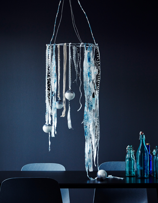 ventilador de teto Spirit - Blog Myspirit - Árvore de Natal improvisada com fios de arame - decoração de Natal simples e barata