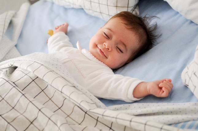 ventilador de teto Spirit - Blog Myspirit - bebê dormindo - comprar ventilador de teto