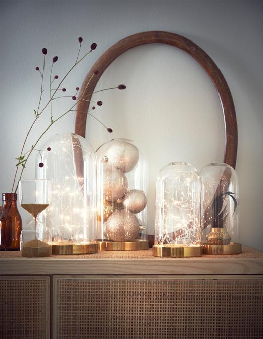ventilador de teto Spirit - Blog Myspirit - luminária decorativa com pisca-pisca - ideias para decoração de Natal