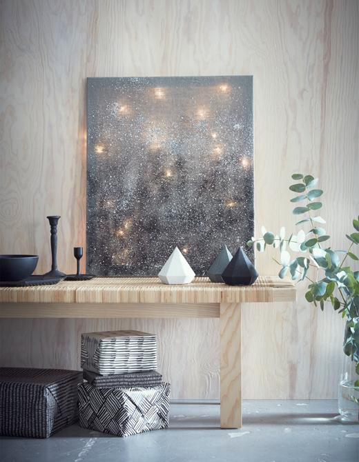 ventilador de teto Spirit - Blog Myspirit - quadro de céu estrelado - ideias para decoração de Natal