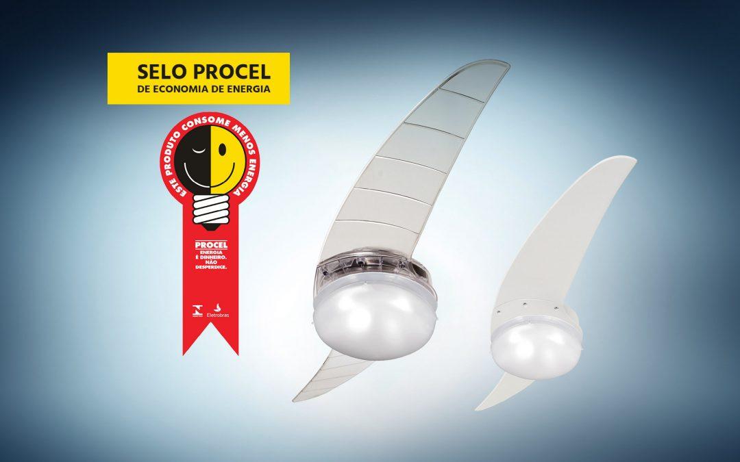 ventilador de teto Spirit - Blog Myspirit - selo Procel - ventilador de teto econômico - comprar ventilador de teto