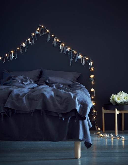 ventilador de teto Spirit - Blog Myspirit - pisca-pisca com enfeites - ideias para decoração de Natal