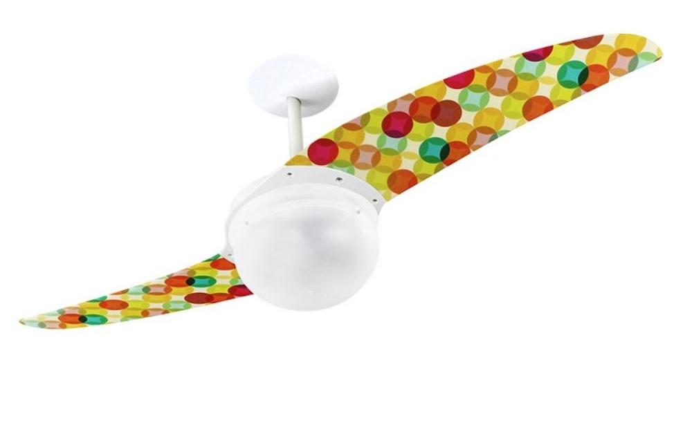 ventilador de teto Spirit - Blog Myspirit - Ventilador de Teto Spirit 202 Feminina Bolas Natalinas L29 Lustre Globo - ideias para decoração de Natal
