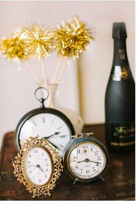 ventilador de teto Spirit - Blog Myspirit - decoração de ano novo com relógios - decoração de Ano Novo simples e barata