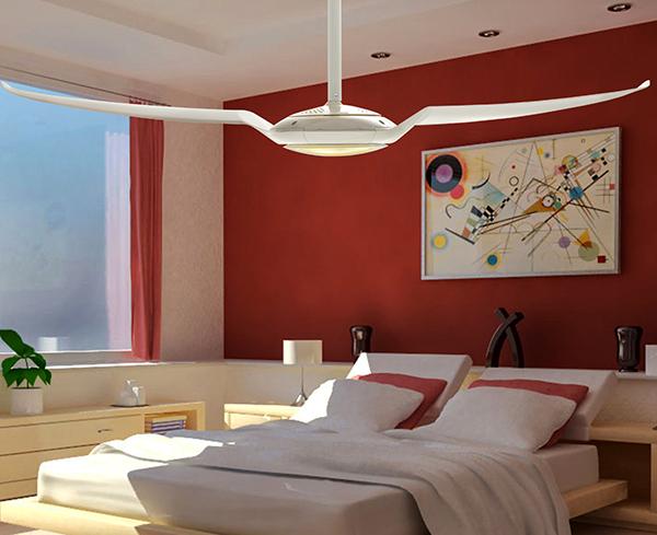 Ventiladores e luminárias Spirit - Blog Myspirit - ventilador de teto no quarto - como refrescar o quarto com ventilador de teto