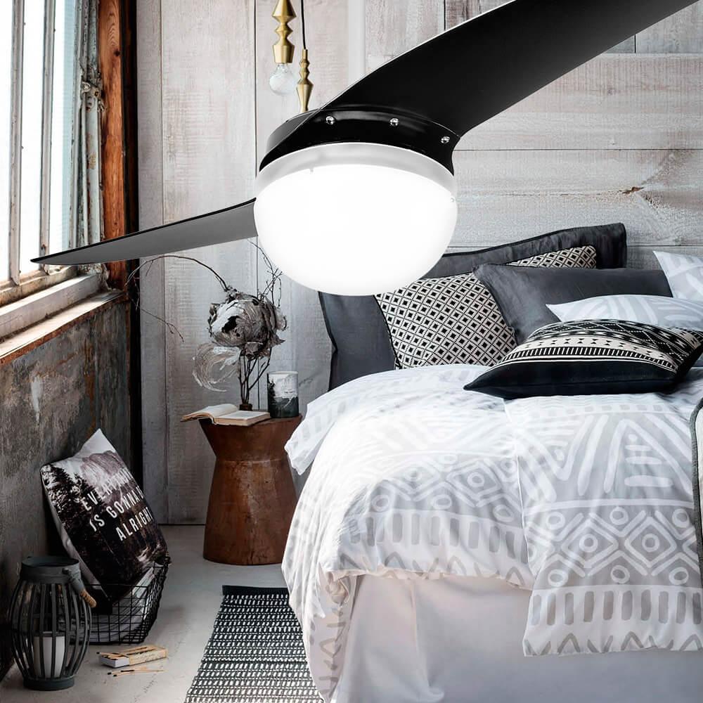 ventilador de teto Spirit - Blog Myspirit - como refrescar o quarto com ventilador de teto