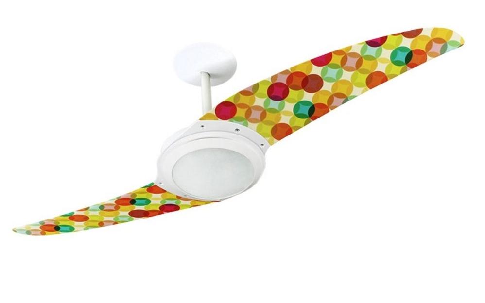 ventilador de teto Spirit - Blog Myspirit - Ventilador de Teto Spirit 203 Feminina Bolas Natalinas L29 Lustre Flat - decoração de mesa de Natal
