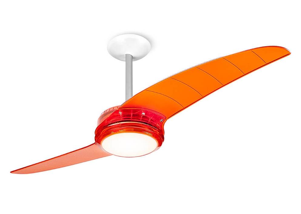 ventilador de teto Spirit - Blog Myspirit - Ventilador de Teto Spirit 203 Tangerina Lustre Flat - o verão chegou - verão