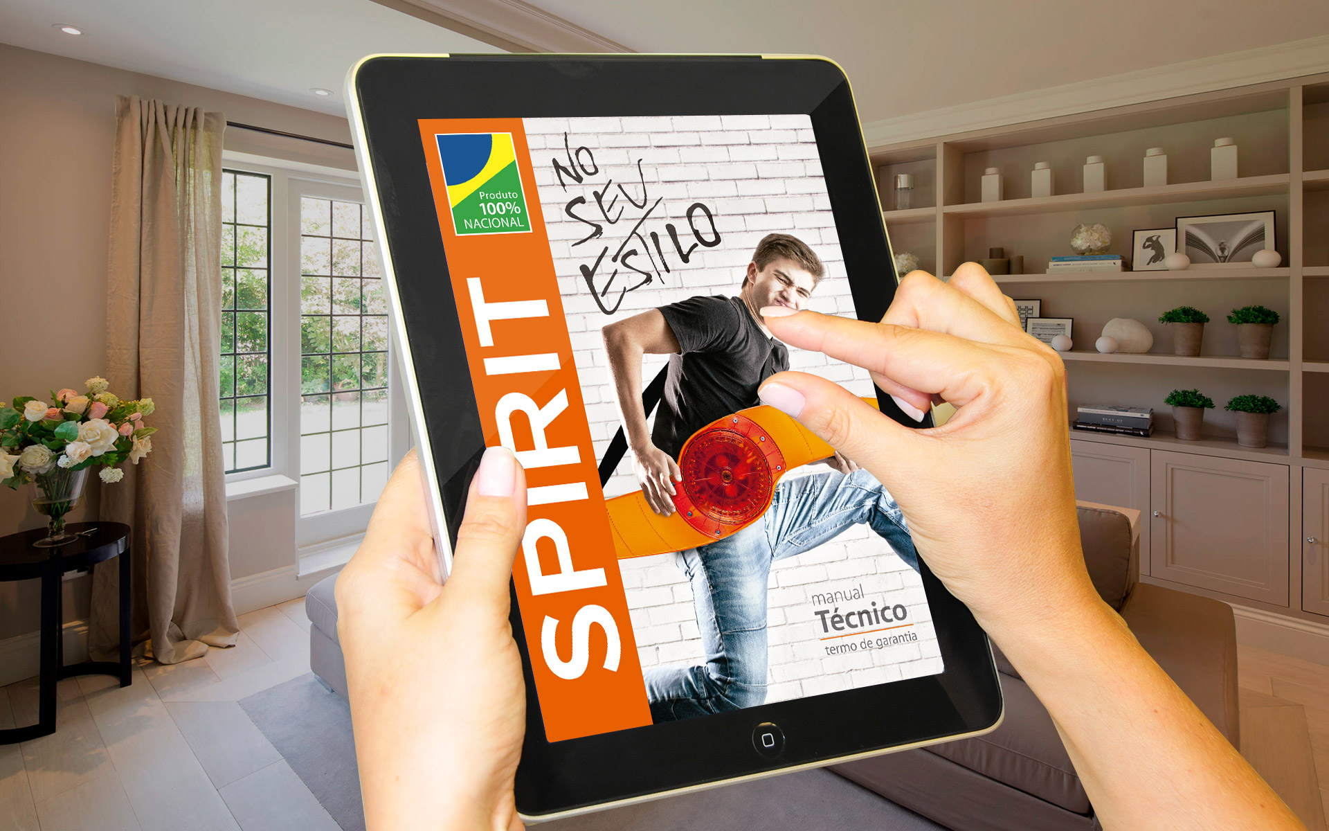 ventilador de teto Spirit - Blog Myspirit - capa blog - manual do ventilador de teto
