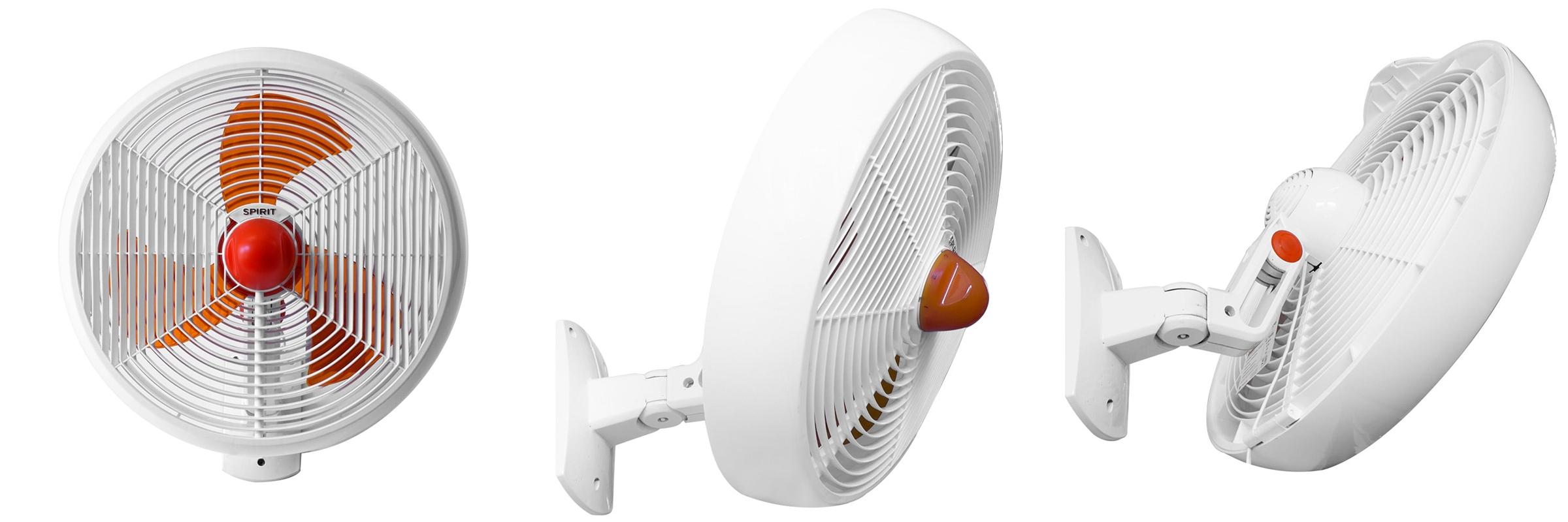 ventilador de teto Spirit - Blog Myspirit - Ventilador de Parede SPIRIT Maxximos 40cm Tangerine - ventilador de parede Spirit - ventilador de parede