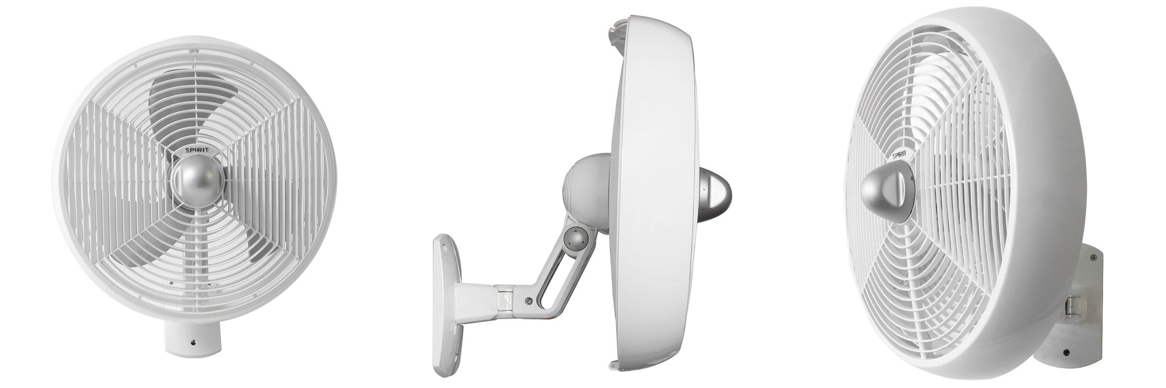 ventilador de teto Spirit - Blog Myspirit - Ventilador de Parede SPIRIT Maxximos 40cm White Steel - ventilador de parede Spirit - ventilador de parede