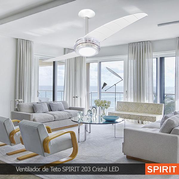 Ventiladores e luminárias Spirit - Blog Myspirit - como deixar a casa mais fresca