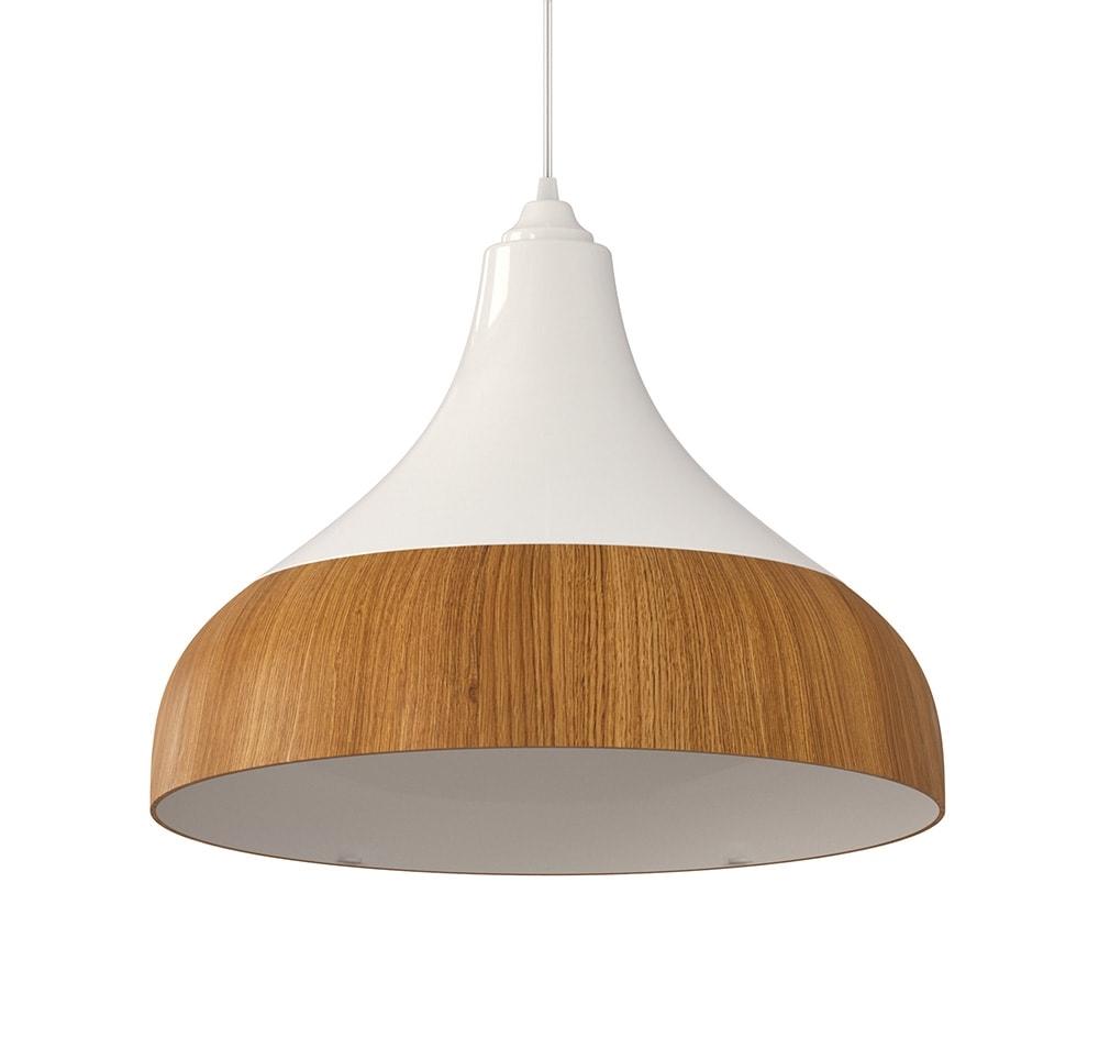 ventilador de teto Spirit - Blog Myspirit - Luminária Pendente Spirit Combine 1300 Branca/Caramelo - como decorar o primeiro apartamento