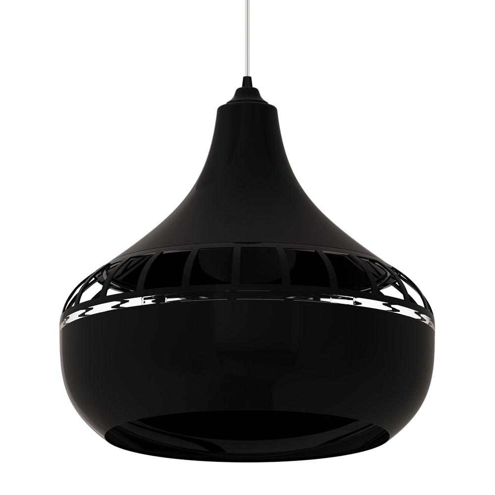 ventilador de teto Spirit - Blog Myspirit - Luminária Pendente Spirit Combine 1430 Preta - como decorar o primeiro apartamento