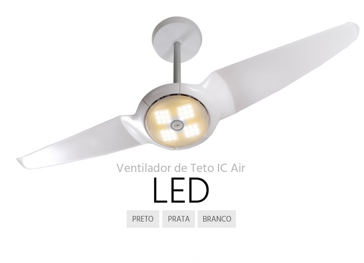 ventilador de teto Spirit - Blog Myspirit - ventilador de teto SPIRIT IC Air LED - ventilador de teto SPIRIT IC Air