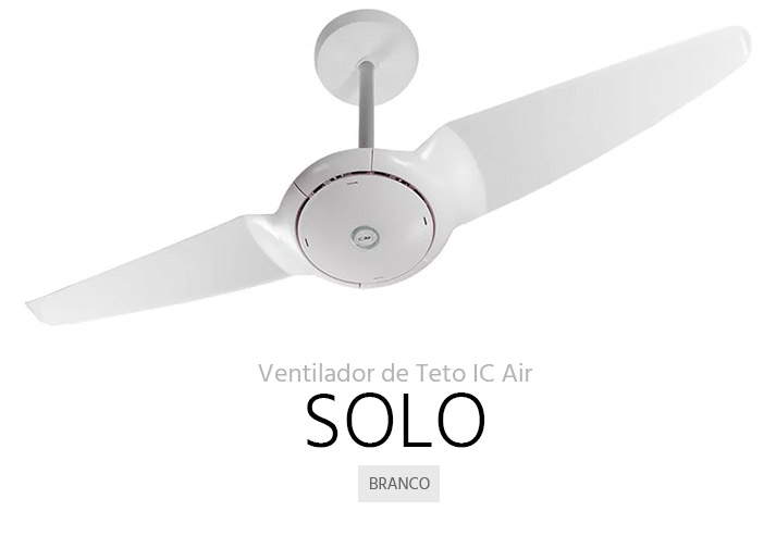 ventilador de teto Spirit - Blog Myspirit - ventilador de teto SPIRIT IC Air Solo - ventilador de teto SPIRIT IC Air