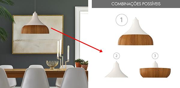ventilador de teto Spirit - Blog Myspirit - sala de jantar com luminária pendente Spirit Combine - luminária pendente Spirit Combine - dicas simples de decoração