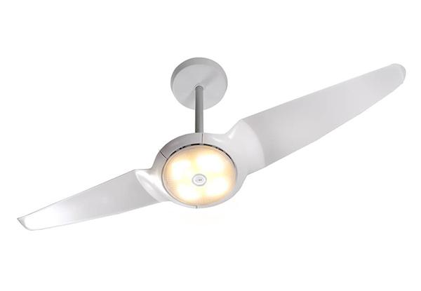 ventilador de teto Spirit - Blog Myspirit - Ventilador de Teto Spirit IC Air Double LED Branco - ventilador de teto com luminária