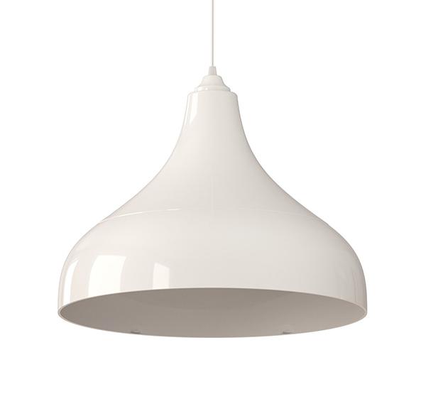 luminária pendente Spirit Combine - Blog Myspirit - Luminária Pendente Spirit Combine 1300 Branca - luminária pendente branca