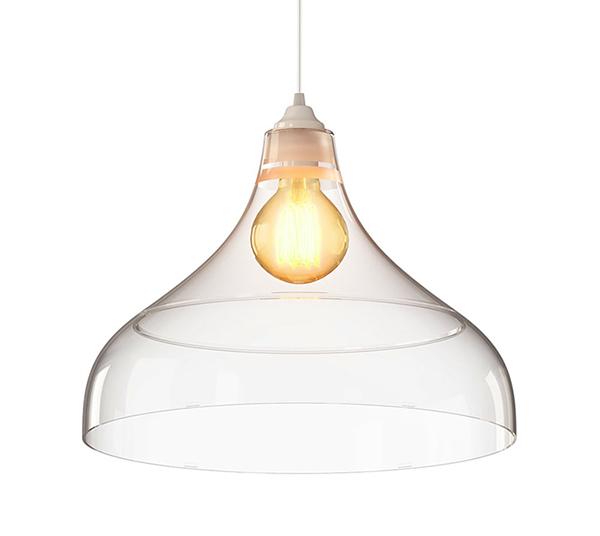 luminária pendente Spirit Combine - Blog Myspirit - Luminária Pendente Spirit Combine 1300 Transparente