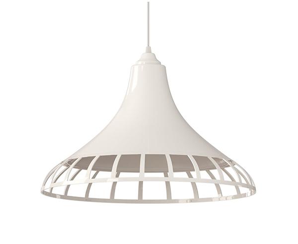luminária pendente Spirit Combine - Blog Myspirit - Luminária Pendente Spirit Combine 1400 Branca - luminária pendente branca