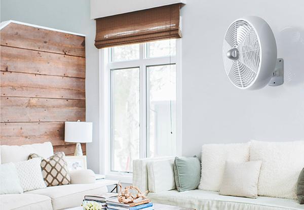 Ventiladores e luminárias Spirit - Blog Myspirit - ventilador de parede Maxximos - onde colocar o ventilador