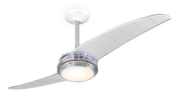 Ventiladores de teto e luminárias pendentes Spirit - Blog Myspirit - Ventilador de Teto Spirit 203 Cristal Lustre Flat - onde colocar o ventilador