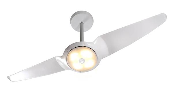 ventilador de teto Spirit - Blog Myspirit - Ventilador de Teto Spirit IC Air Double LED Branco - ventilador Spirit diminui a sensação térmica do ambiente