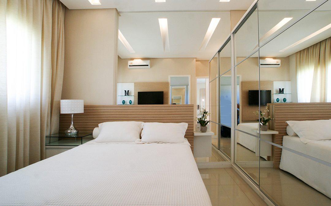 Ventiladores e Luminária Spirit - Blog Myspirit - capa blog - decoração de quarto de casal pequeno