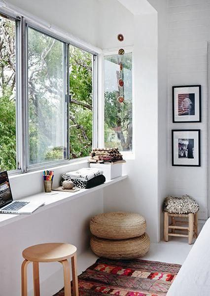 Ventiladores e Luminárias Spirit - Blog Myspirit - quarto de casal pequeno - decoração de quarto de casal pequeno