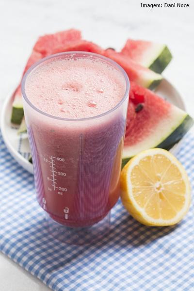 Ventiladores e luminárias Spirit - Blog Myspirit - Suco de melancia - bebida para primavera - primavera