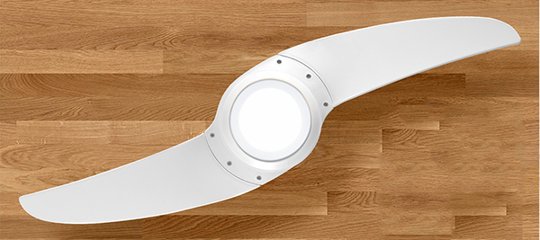 Ventiladores e luminárias Spirit - Blog Myspirit - ventilador de teto Spirit 203 branco LED - inovação